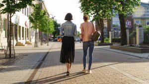 taking a walk